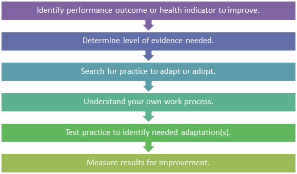 Process to adapt or adopt a practice